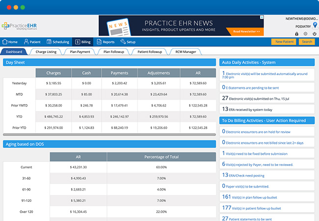 Medical Billing in Practice EHR