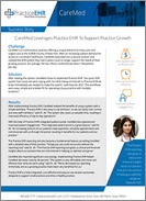 CareMed Leverages Practice EHR To Support Practice Growth